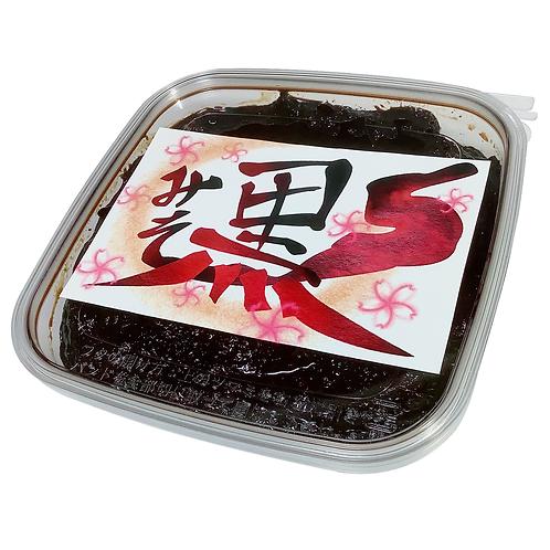 黒味噌(万能調味料)320g 黒味噌発祥の店 鹿児島三平らーめん
