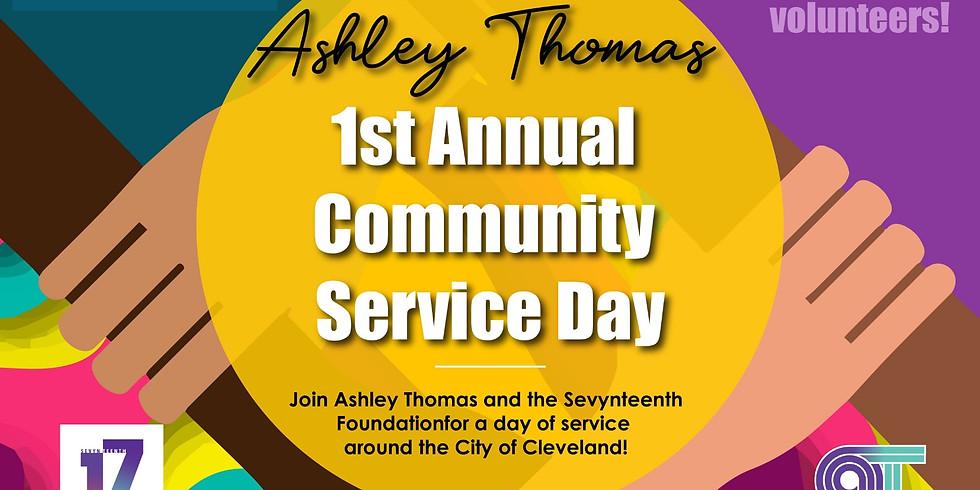 Ashley Thomas Community Service Day