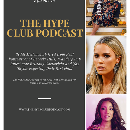 """Teddi Mellancamp Fired From """"RHOBH"""", Brittany Cartwright and Jax Taylor Expecting First Child..."""