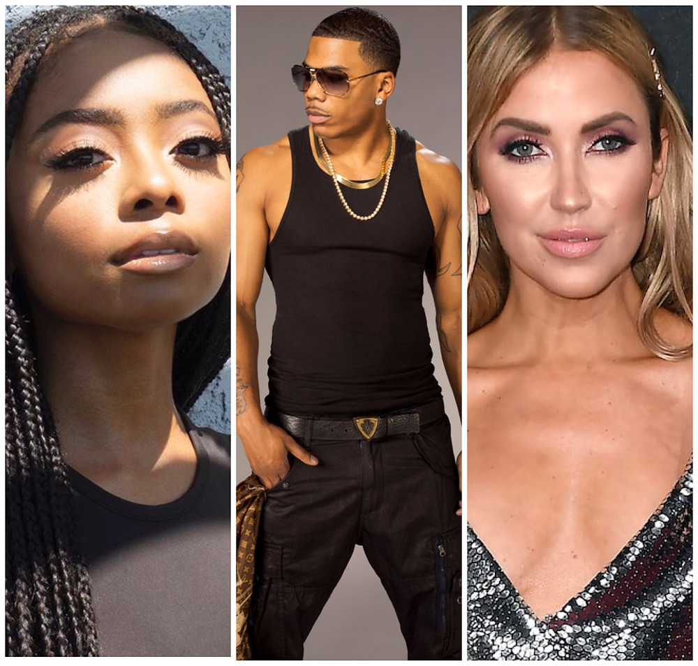 Skai Jackson/Nelly/Kaitlyn Bristowe