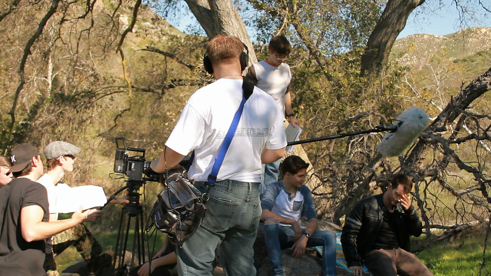 LIMBO BTS (Up On Rocks) - Visionary Film Productions