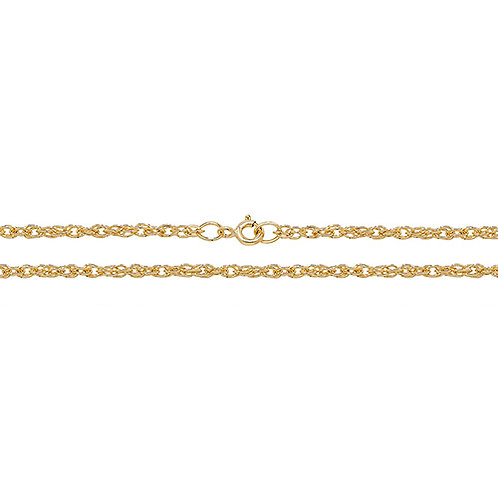 9ct Yellow Gold Prince of Wales Chain