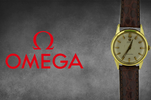 Omega Seamaster - Automatic - 18ct Gold
