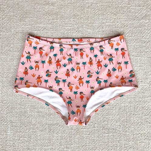 Kedungu Bikini Bottom - Baby Pink Hawaii