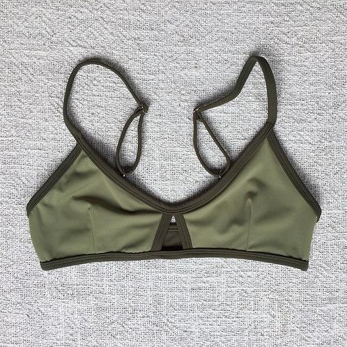 Stargazer Bikini Top Military Green