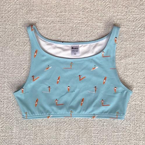 Kedungu Bikini Top - Baby Blue Surfergirls