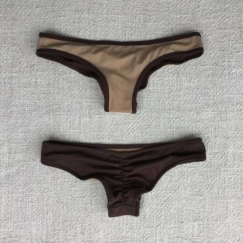Stargazer Bikini Bottom Nude Chocolate