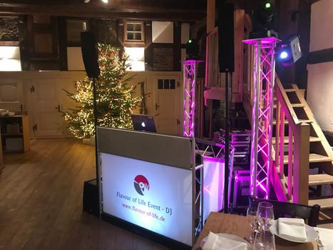DJ Setup Weihnachten