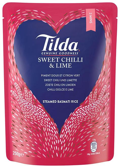 Tilda® Słodkie Chilli&Limonka Ryż Basmati, 250g