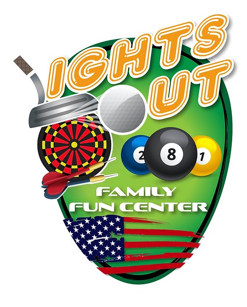 Lights Out Family Fun Center Logo