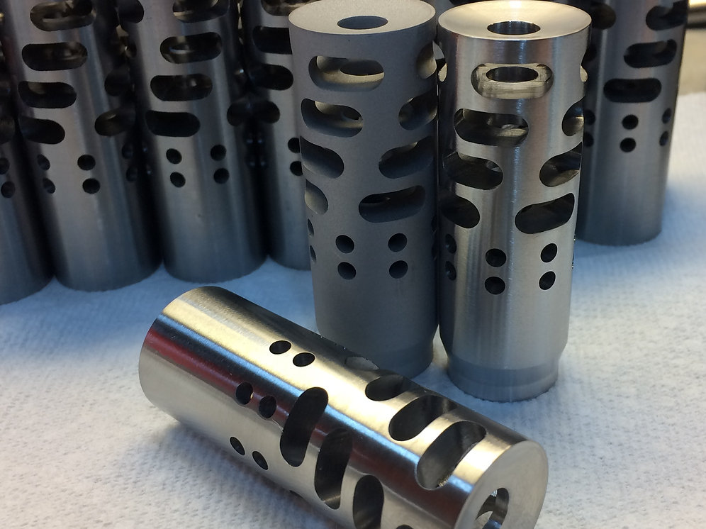 NWP NoTimer Muzzle Brake (All Calibers) | macsgunworks