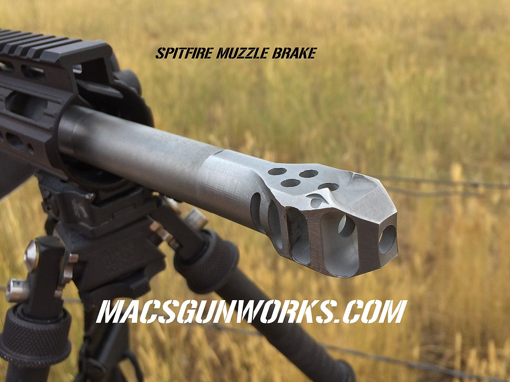 SPITFIRE Muzzle Brakes (All Calibers) | macsgunworks