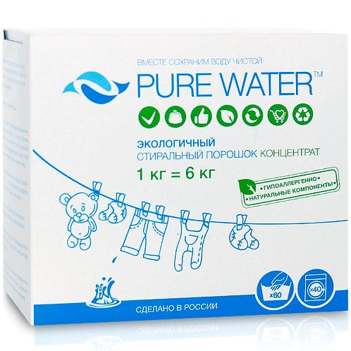 Стиральный порошок-концентрат Pure Water 1кг