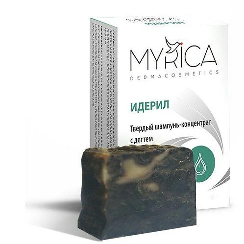 Myrica Натуральный шампунь-концентрат с дегтем 100 г