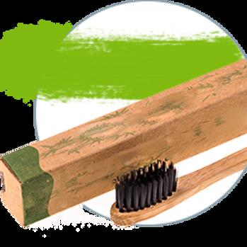BambooBrush Зубная щетка из бамбука  (средняя жесткость  щетины)