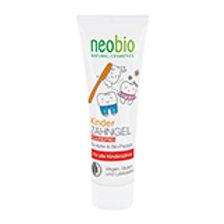 """NeoBio Гелевая зубная паста для детей """"С био-яблоком и папайей"""", без фтора 50 мл"""