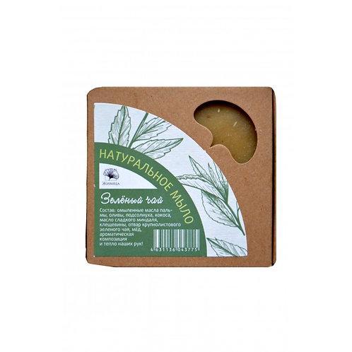 """Живица Мыло """"Зеленый чай"""" 120 г"""