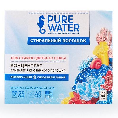 Pure Water Стиральный порошок для цветного белья 1000 г