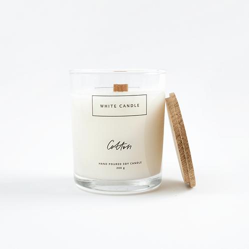 White Candle Соевая свеча с деревянным фитилем (ассортимент) 200 мл