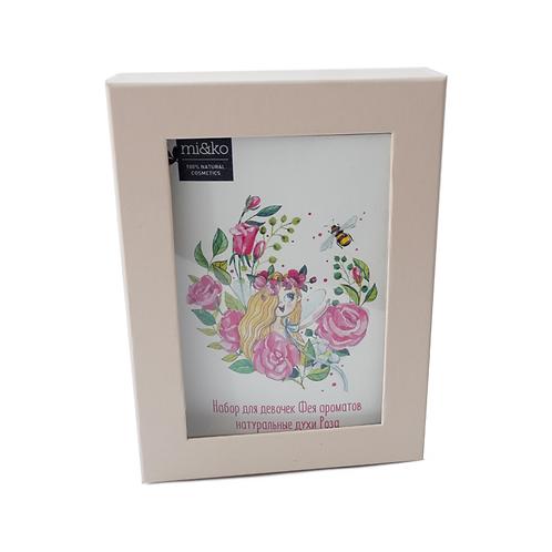Miko Набор для девочек Фея ароматов натуральные духи Роза