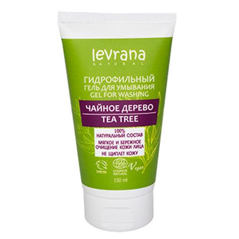 """Levrana Гель для умывания/гидрофильное масло """"Чайное дерево"""" 150 ml"""