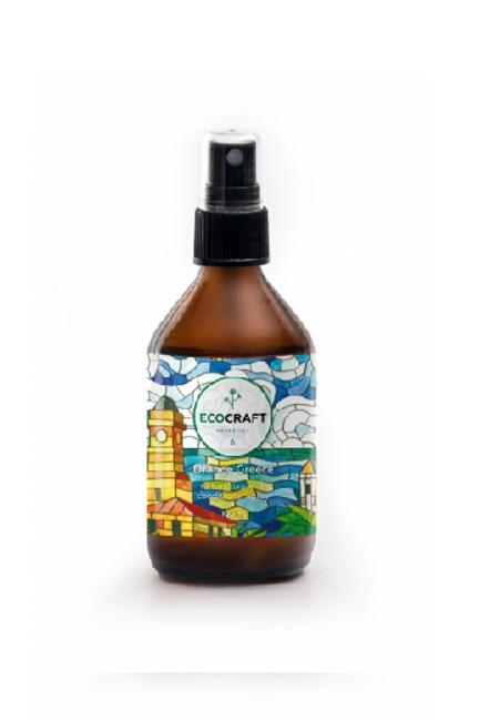 """Ecocraft Спрей для волос для блеска, гладкости и упругости """"Апельсиновая Греция"""""""