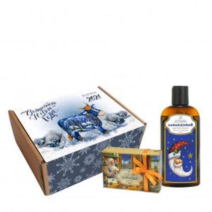 Kleona Подарочный набор  Лавандовый вечер (мыло, гель)