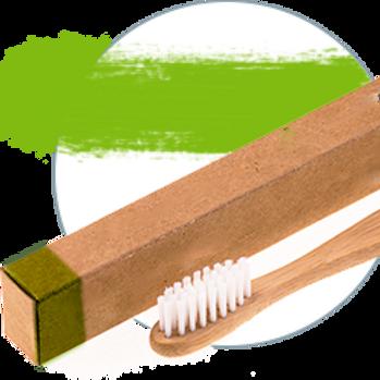 BambooBrush Зубная щетка из бамбука ,  средняя жесткость