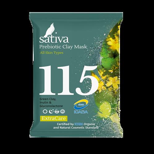 Sativa Маска минеральная с пребиотиком 15 г
