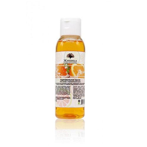 Живица Гидрофильное масло для сухой и нормальной кожи 100 мл