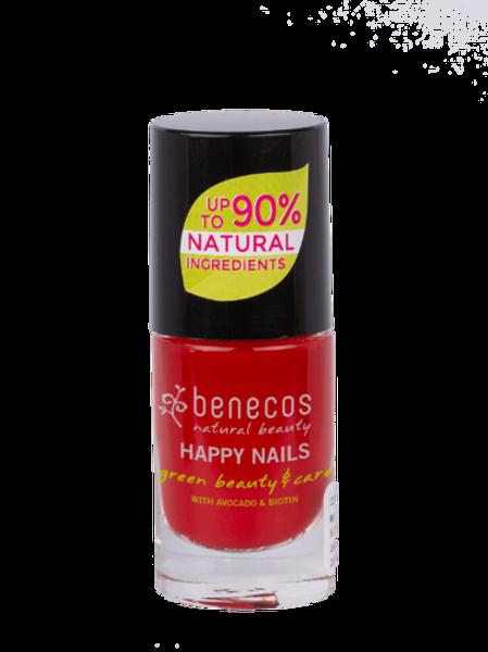 """Benecos Лак для ногтей """"Винтажный красный"""" 8FREE 5мл"""