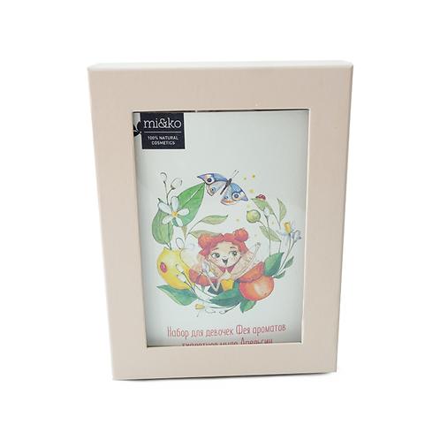 Miko Набор для девочек Фея ароматов Туалетное мыло Апельсин