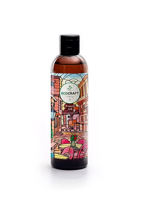 """Ecocraft Натуральный шампунь для нормальных и сухих волос """"French silk"""""""