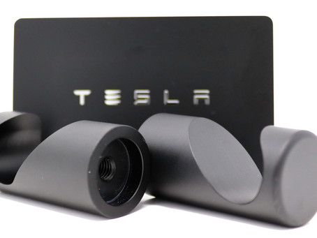 The new Tesla Model 3 Boot Hook Accessory from Glass Bonra