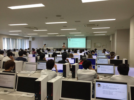 摂南大学経営学部で講義をしました