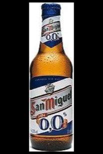 Botellín San Miguel 0,0