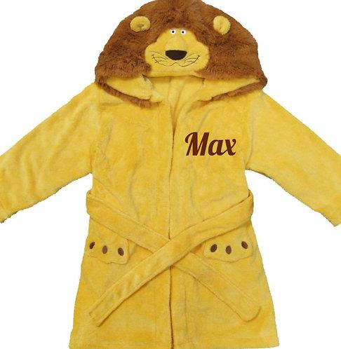 Personalized Micro Fleece bathrobe
