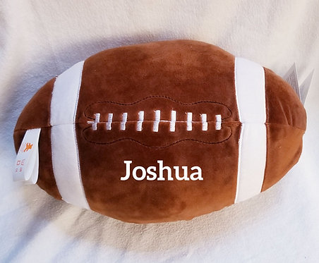 Personalized Plush Football