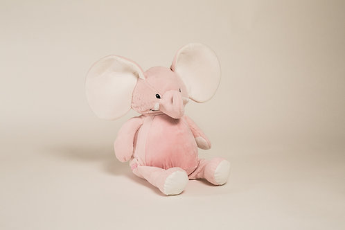 "16"" Personalized Pink Elephant"