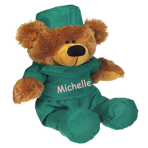 "12"" Personalized Dr. Bear"