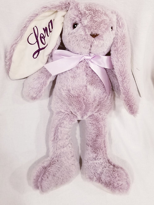 "12"" Plush rabbit"