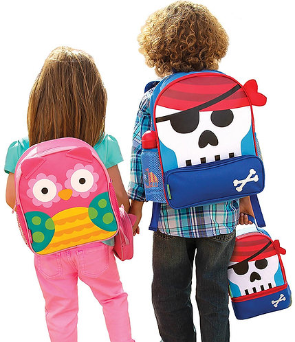 School bag and lunch pal set