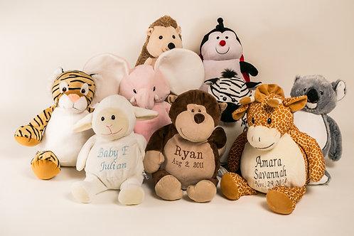 """16"""" Safari plush toys"""