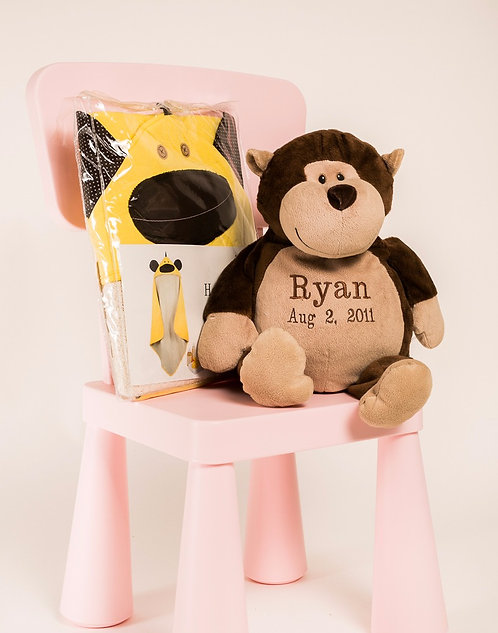 Monkey boy gift set