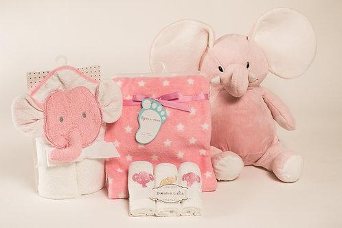 I love my elephant baby gift set