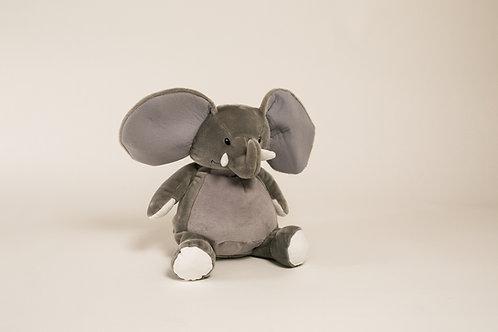 "16"" Personalized Grey Elephant"