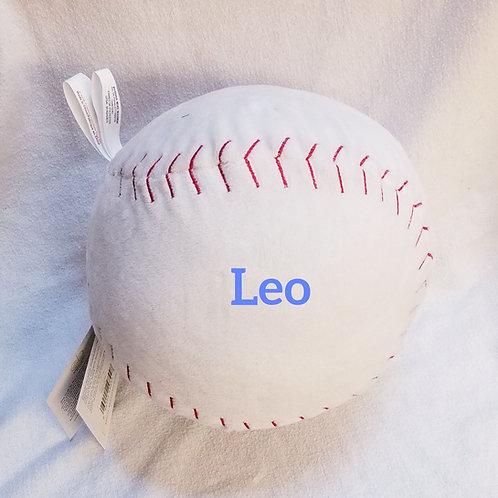 Personalized Plush Baseball