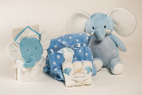 I love my elephant baby boy gift set