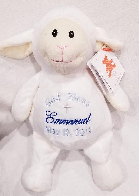 """16"""" Baptism Lamb"""