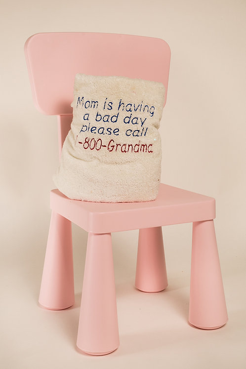 Fun towel for Mom